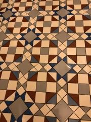 Classic Victorian pattern floor
